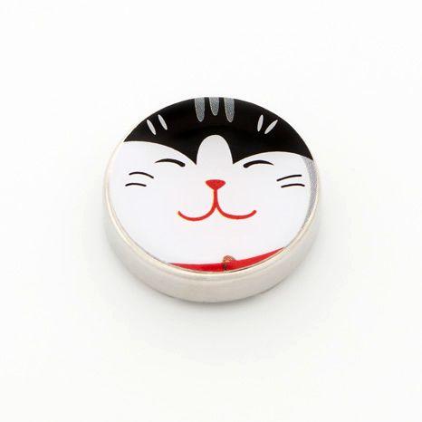 cache bouton chat accessoire femme